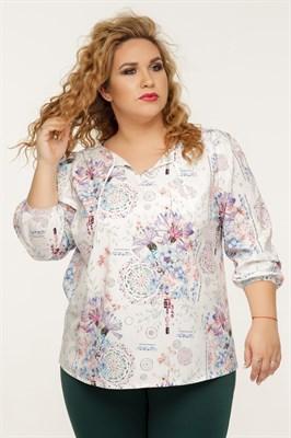 1105Б/Ариадна блуза - фото 8352