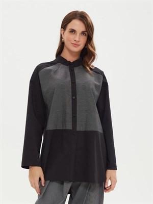 Блуза женская BL 002 H1H10620 ч/б - фото 8620