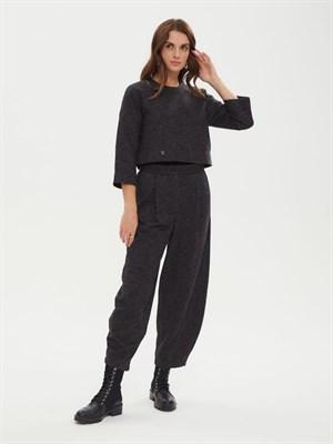 брюки женские BR006 серый меланж  skandik - фото 8624