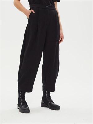 брюки женские BR006 stump черный  - фото 8628
