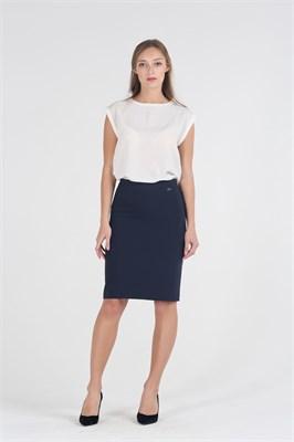 056-515/т.синий юбка - фото 8721