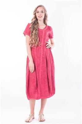 1087/вино платье - фото 8723