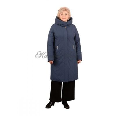ЕП 1705 Пальто индиго - фото 8904