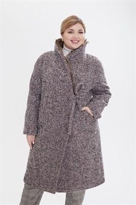 пальто женское 406/TM  60195 серое - фото 9230