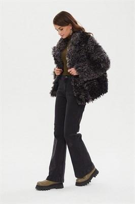 пальто женское 521/t alde серое - фото 9245