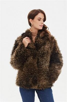 пальто женское 521/t alde коричн. - фото 9251