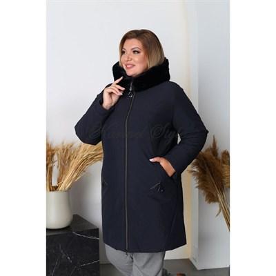 Кармель куртка ук 504 зимняя синяя - фото 9464