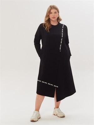 Платье Р 001 М-6727 (чёрный) - фото 9515