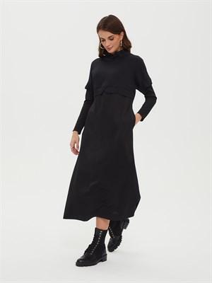 Платье Р010 PETEK (чёрный) - фото 9539