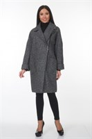 AZWS7044/серый пальто