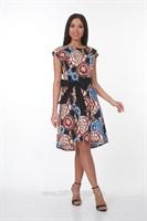 ALDS7057 Платье женское мультиколор