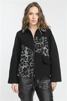 Куртка 522 Brig indios серо-черный