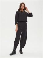 брюки женские BR006 серый меланж  skandik