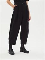 брюки женские BR006 stump черный