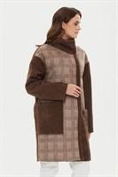 пальто женское 510/t barbara беж.-кор