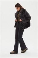 пальто женское 521/t alde серое